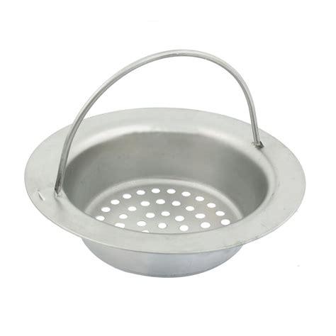 mesh basket design floor sink drainer strainer w handle 3 1 inch dia ebay