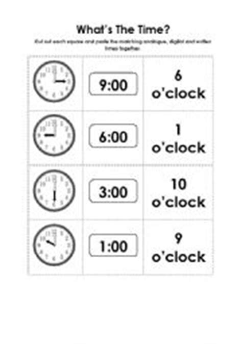 12 Best Images Of Clock Cut Out Worksheet  Grouchy Ladybug Clock Template, Clock Face With