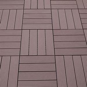 Bambus Dielen Terrasse : wpc terrassen fliesen braun sichtschutz ~ Markanthonyermac.com Haus und Dekorationen