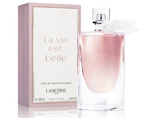 la vie est l eau de toilette florale lancome perfume a new fragrance for 2016