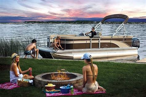 Best Pontoon Boats Under 25 Feet by The Best Boats For Your Money Trailering Boatus Magazine