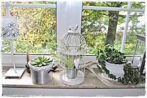 Fensterbank Dekorieren Wohnzimmer : lillemelle ein bisschen deko ~ Markanthonyermac.com Haus und Dekorationen