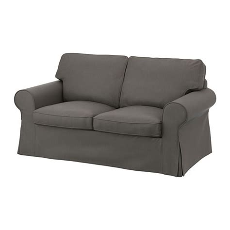 Ektorp Chair Cover Svanby Gray by Ikea Ektorp 2 Seat Sofa Cover Loveseat Slipcover Nordvalla