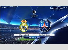 PES 2018 Real Madrid vs PSG UEFA Champions League UCL