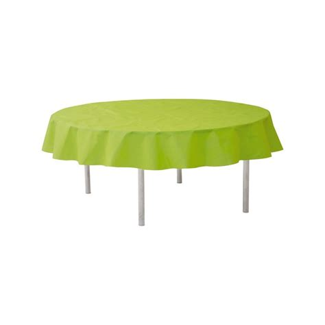 nappe ronde jetable 240 cm vert anis nappe jetable
