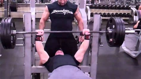 Mark Lovell  Bench Press 315 X 10 Youtube