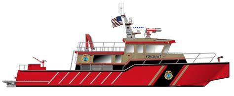 Earthquake Fire Boat by John S Damrell Boston S New 70 Fireboat Gcaptain