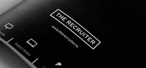 logo ligne graphique et site pour the recruiter h2a agence de communication