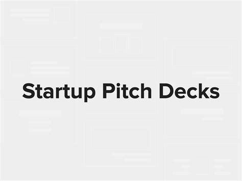 startup pitch decks 看看airbnb 等公司的募資簡報是怎麼寫的 dsgn tw