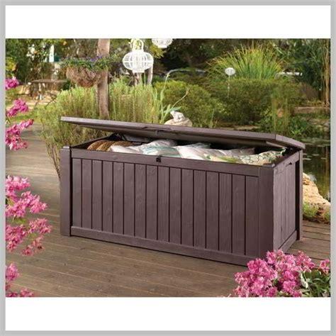 keter jumbo waterproof garden deck box 570ltr capacity