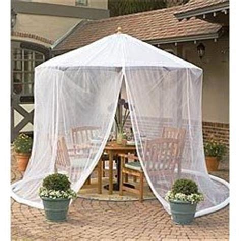 Mosquito Netting For Patio Umbrella by Patio Umbrella Mosquito Net By Simple Diy Solutions