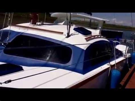 Catamaran Vs Monohull Ferry by Skoota28 Power Catamaran Walkround Interior And Deck Doovi