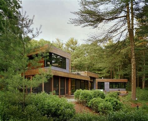 maison design au milieu de la for 234 t deco de salon