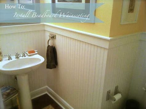 How To Install Beadboard Wainscoting Like A Pro The