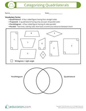 Quadrilateral Worksheet For 4th Grade Livinghealthybulletin