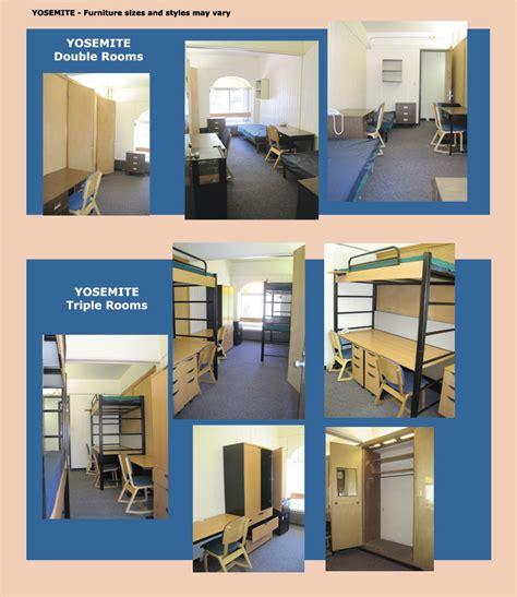 cal poly slo yosemite dorms cal poly slo room and corkboard wall