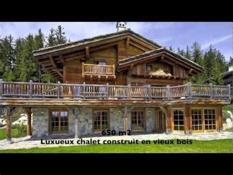 magnifique grand chalet de luxe 224 vendre la grange de crehavouettaz crans montana valais