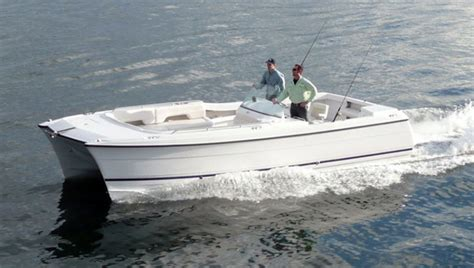 Used Power Catamaran Fishing Boats by Research 2015 Aspen Power Catamarans F90 Fishing On