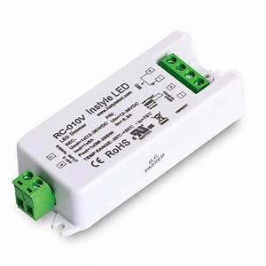 Led Dimmer Anschließen : 0 10v dimmer receiver module for leds 8 amp single channel ~ Markanthonyermac.com Haus und Dekorationen