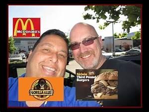 McDonald's 1/3 Pound Burger Review with Ken Domik! - YouTube