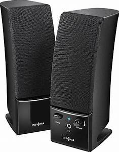Best Buy: Insignia™ 2.0 Stereo Computer Speaker System ...