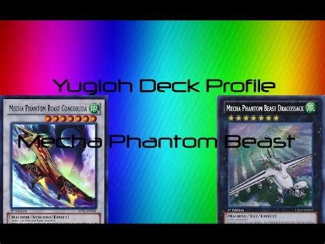 yugioh best mecha phantom beast deck profile
