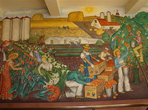 diego rivera mural at coit tower san francisco a gallery on flickr