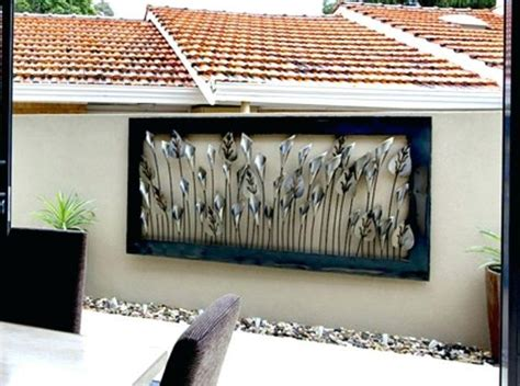 Best Large Metal Wall Art For Outdoor