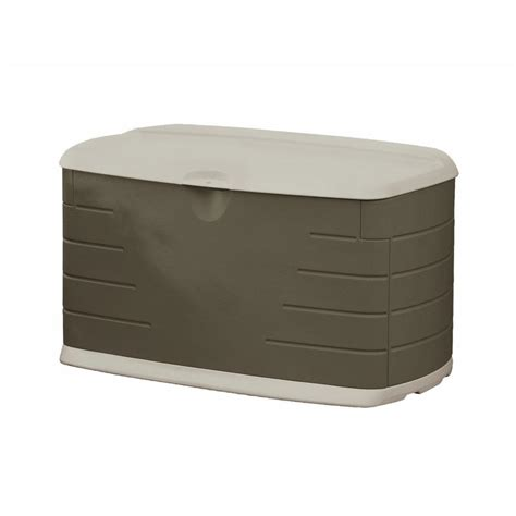 rubbermaid 73 gal medium deck box with seat fg5f2100olvss