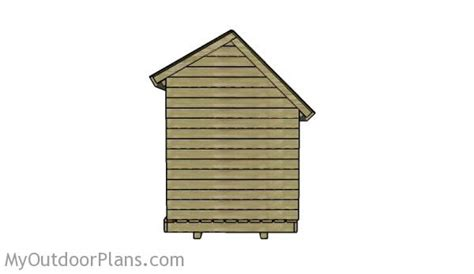 6x8 wood shed roof plans myoutdoorplans free woodworking plans and projects diy shed