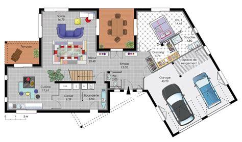 cuisine plan de maison moderne d architecte gratuit maison moderne plan plan de maison moderne