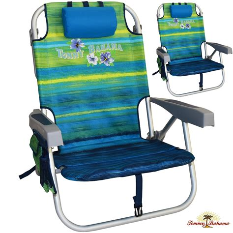 2 bahama backpack cooler chairs with towel bar