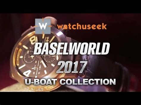 U Boat Watch Collection by U Boat Watch Collection At Baselworld 2017 U Boat