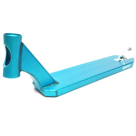 apex pro scooter deck 600mm turquoise scooter decks atbshop co uk