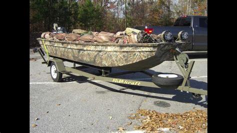 Duck Hunting Boat Build by Polar Kraft Duck Boat Build Youtube
