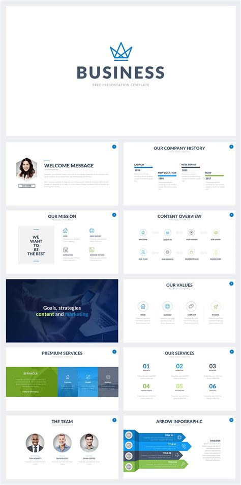 50+ Best Free Cool Powerpoint Templates Of 2018 (updated