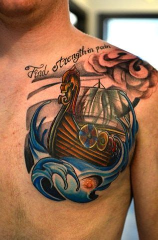 Fire Boat Meaning by 1000 Ideas About Viking Ship Tattoo On Pinterest Viking