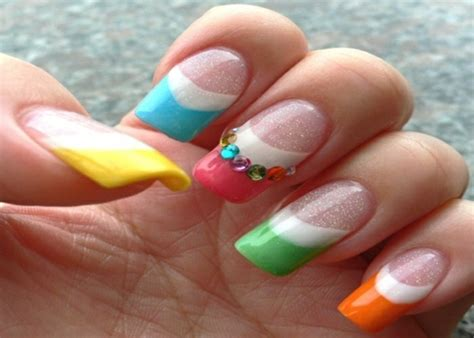 ongles couleur