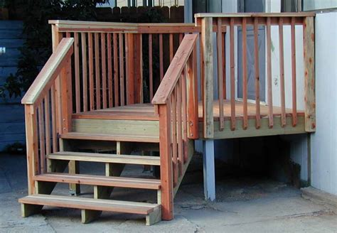 small deck with stairs many deck railing ideas http awoodrailing 2014 11 16 100s of deck