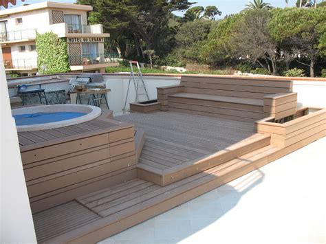 amenagement terrasse bois terrasse en bois et balcon other metro par decobois