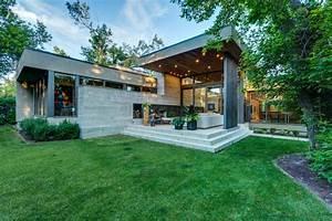 Haus Bungalow Modern : modern bungalow modern haus fassade calgary von rusch projects ~ Markanthonyermac.com Haus und Dekorationen