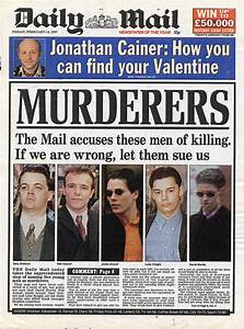 Doreen Lawrence talks about the Mail's front-page headline ...