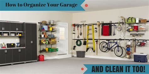 Top Garage Cleaning & Organizing Tips