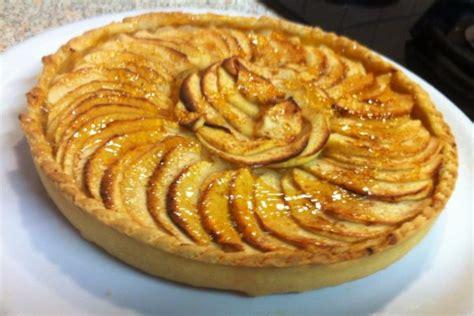 tarte aux pommes sur compote de cuisine passiondu67