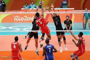 Mehr News Agency - Iran volleyball team defeats Cuba at Rio