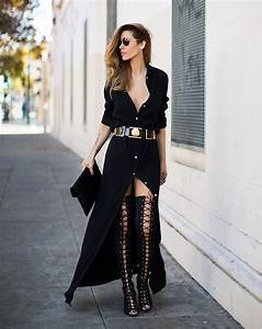 Spice Up Your All Black Outfits With These Outfit Inspiration