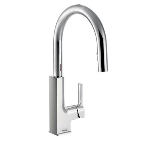 moen nickel pull faucet nickel moen pull faucet