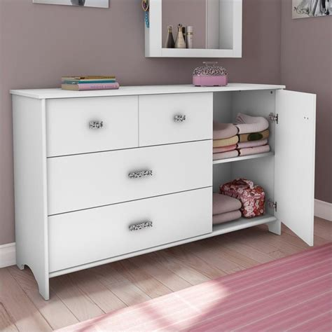 south shore white dressers south shore sabrina 3 drawer single dresser in white