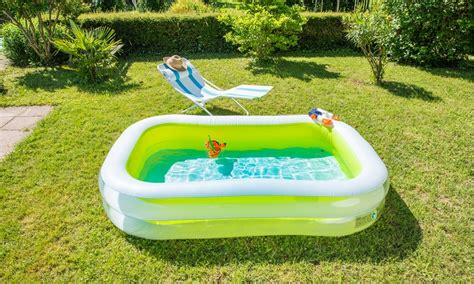 piscines familiales gonflables groupon