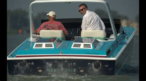 Boat Driving Youtube by Driving The Original Miami Vice Boat Pt2 Youtube